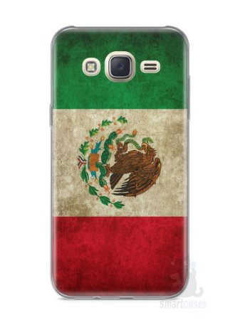 Capa Capinha Samsung J7 Bandeira do México