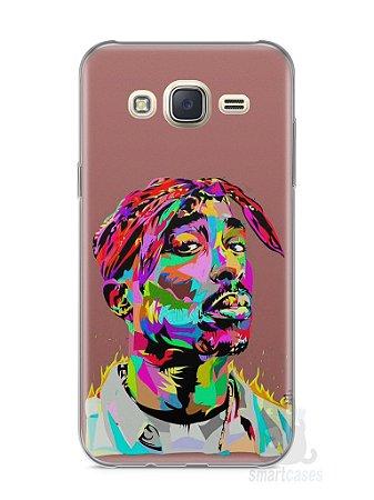 Capa Capinha Samsung J7 Tupac Shakur #4