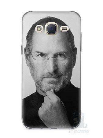Capa Capinha Samsung J7 Steve Jobs