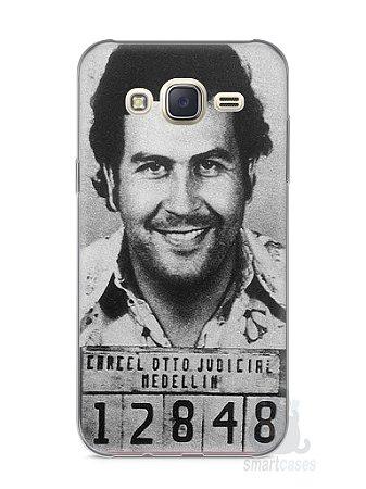 Capa Capinha Samsung J7 Pablo Escobar