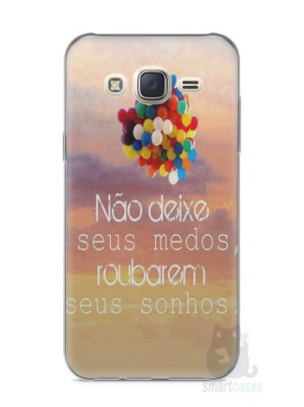 Capa Capinha Samsung J7 Frase #3