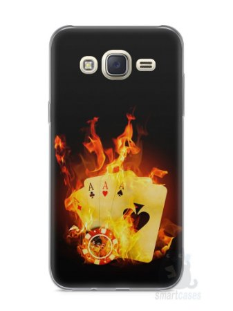 Capa Capinha Samsung J7 Poker #1