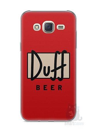 Capa Capinha Samsung J7 Cerveja Duff