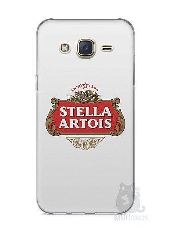 Capa Capinha Samsung J7 Cerveja Stella Artois