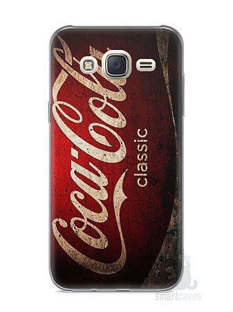 Capa Capinha Samsung J7 Coca-Cola Classic
