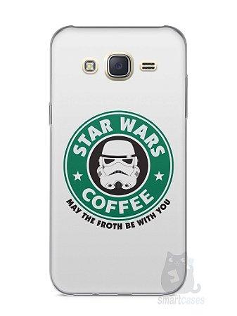 Capa Capinha Samsung J7 Star Wars Coffee