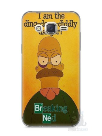 Capa Capinha Samsung J7 Homer Simpson Breaking Bad