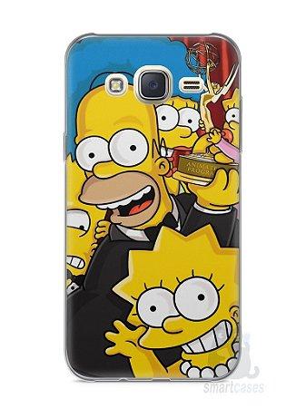 Capa Capinha Samsung J7 Família Simpsons #2