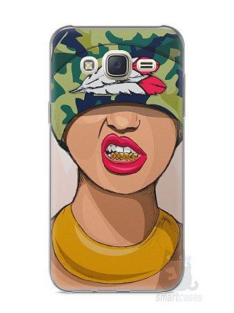 Capa Capinha Samsung J7 Garota Swag