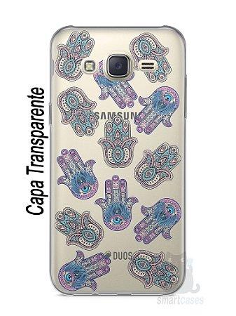 Capa Capinha Samsung J7 Mãozinhas Hamsá