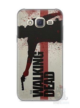 Capa Capinha Samsung J7 The Walking Dead #1