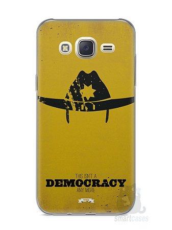 Capa Capinha Samsung J7 The Walking Dead #4