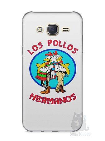 Capa Capinha Samsung J7 Breaking Bad Los Pollos Hermanos #1
