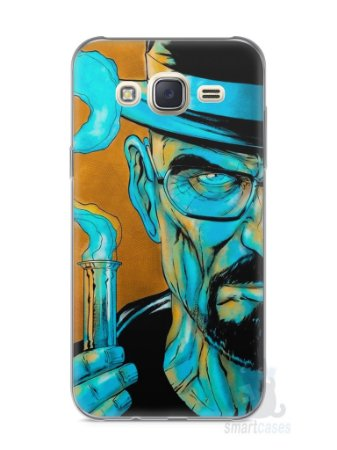 Capa Capinha Samsung J7 Breaking Bad #1