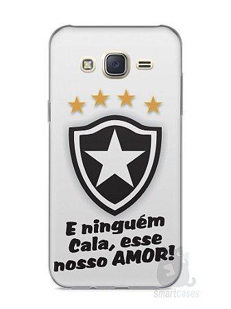 Capa Capinha Samsung J7 Time Botafogo #2