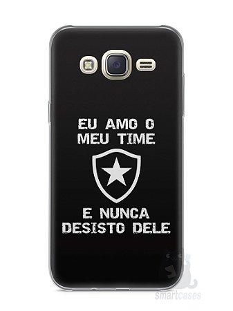 Capa Capinha Samsung J7 Time Botafogo #3