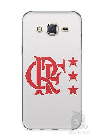 Capa Capinha Samsung J7 Time Flamengo #6