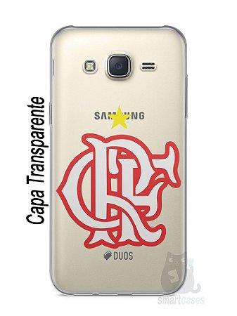 Capa Capinha Samsung J7 Time Flamengo #8