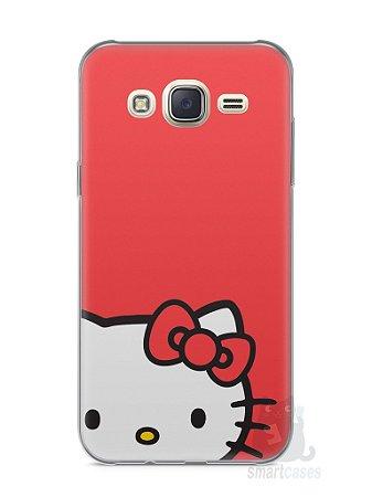 Capa Capinha Samsung J7 Hello Kitty