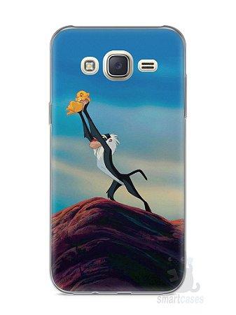 Capa Capinha Samsung J7 Rei Leão