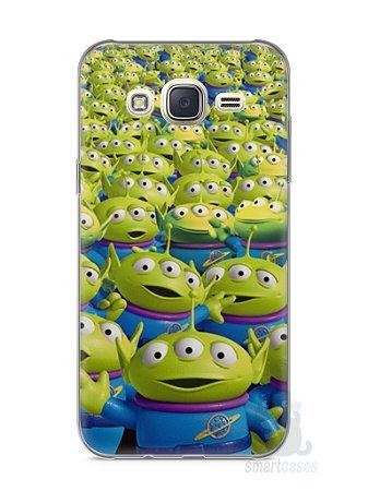 Capa Capinha Samsung J7 Aliens Toy Story #2