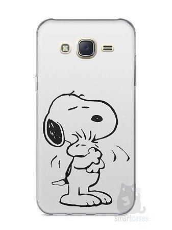 Capa Capinha Samsung J7 Snoopy #3
