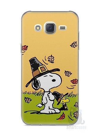 Capa Capinha Samsung J7 Snoopy #8