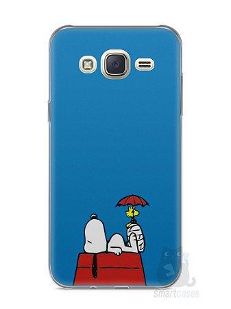 Capa Capinha Samsung J7 Snoopy #9