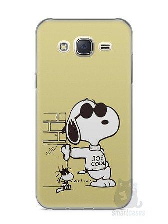 Capa Capinha Samsung J7 Snoopy #10