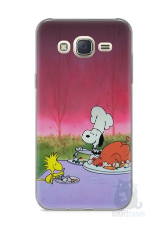Capa Capinha Samsung J7 Snoopy #15