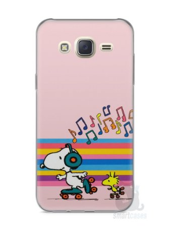 Capa Capinha Samsung J7 Snoopy #17