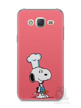 Capa Capinha Samsung J7 Snoopy #20