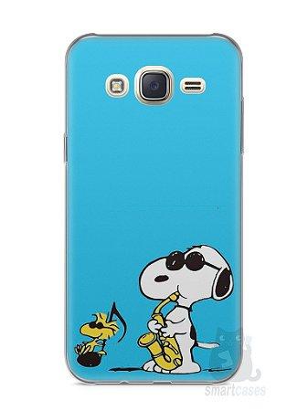 Capa Capinha Samsung J7 Snoopy #21