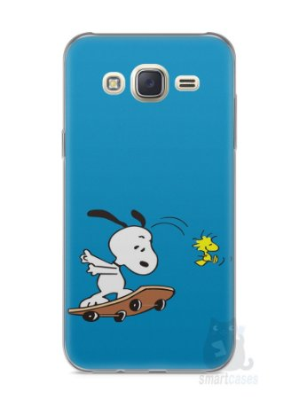 Capa Capinha Samsung J7 Snoopy #25