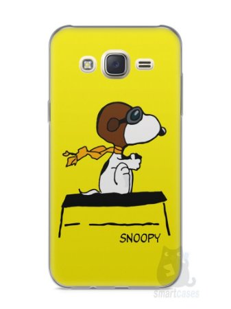 Capa Capinha Samsung J7 Snoopy #31