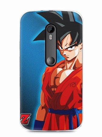 Capa Motorola Moto G3 Goku #1