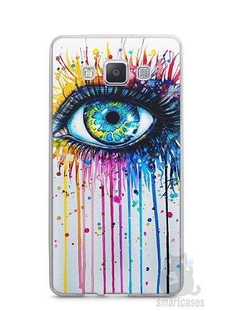 Capa Capinha Samsung A7 2015 Olho Pintura