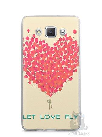 Capa Capinha Samsung A7 2015 Deixe o Amor Voar