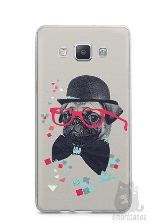 Capa Capinha Samsung A7 2015 Cachorro Pug Estiloso #1