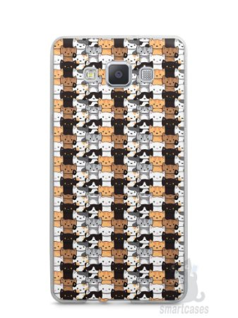 Capa Capinha Samsung A7 2015 Gatos