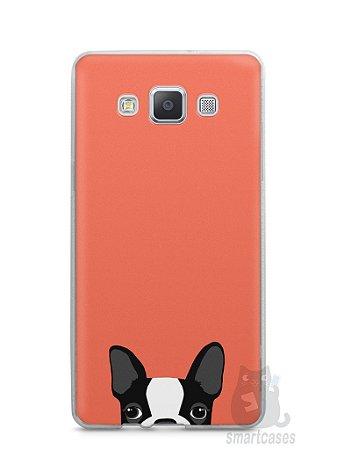 Capa Capinha Samsung A7 2015 Cachorro Bulldog Francês #1