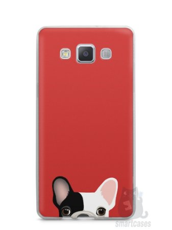 Capa Capinha Samsung A7 2015 Cachorro Bulldog Francês #2