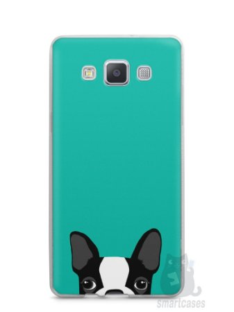 Capa Capinha Samsung A7 2015 Cachorro Bulldog Francês #3