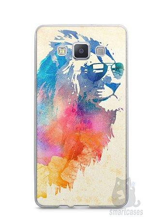 Capa Capinha Samsung A7 2015 Leão Colorido #2