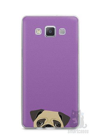 Capa Capinha Samsung A7 2015 Cachorro Pug