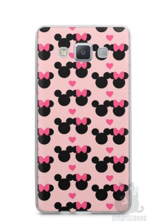 Capa Capinha Samsung A7 2015 Mickey e Minnie
