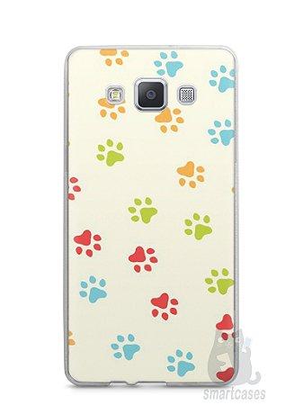 Capa Capinha Samsung A7 2015 Patinhas Coloridas #2
