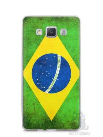 Capa Capinha Samsung A7 2015 Bandeira do Brasil