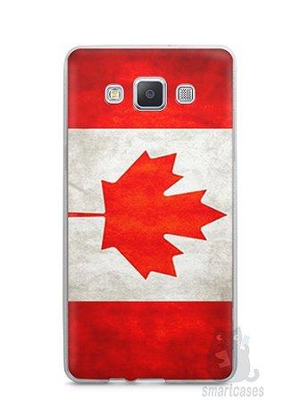 Capa Capinha Samsung A7 2015 Bandeira do Canadá