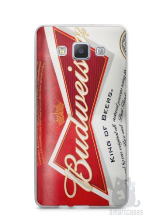 Capa Capinha Samsung A7 2015 Cerveja Budweiser